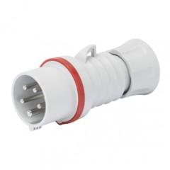 GW60019H - Gewiss 415v 32A 4 Pin Trailing Plug
