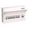 Chint NX3-18RA Populated 18 Module / 12 Way Split Load Consumer Unit