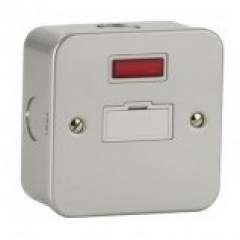 MC6000N - Metal Clad Fused Spur - Unswitched With Neon